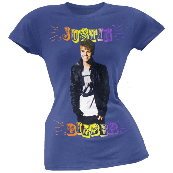 Justin Bieber - Fun Time Juniors T-Shirt