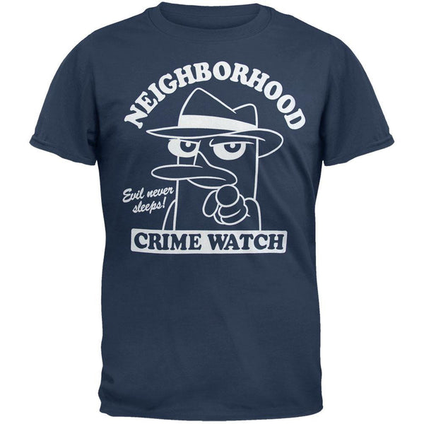 Phineas & Ferb - Crime Watch Soft T-Shirt