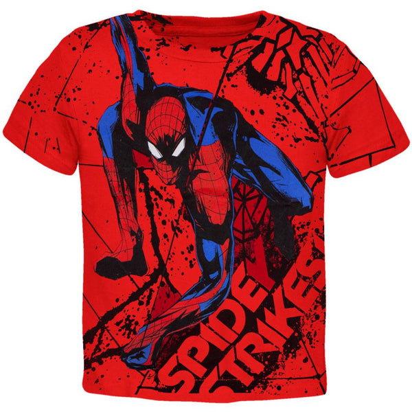Amazing Spider-Man - Web Strike All-Over Youth T-Shirt