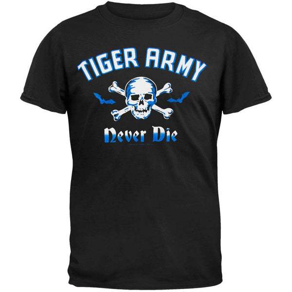 Tiger Army - Never Die T-Shirt