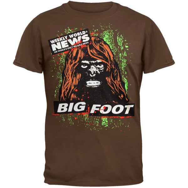 Weekly World News - Bigfoot T-Shirt