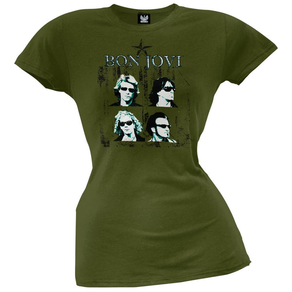 Bon Jovi - Faces Juniors T-Shirt