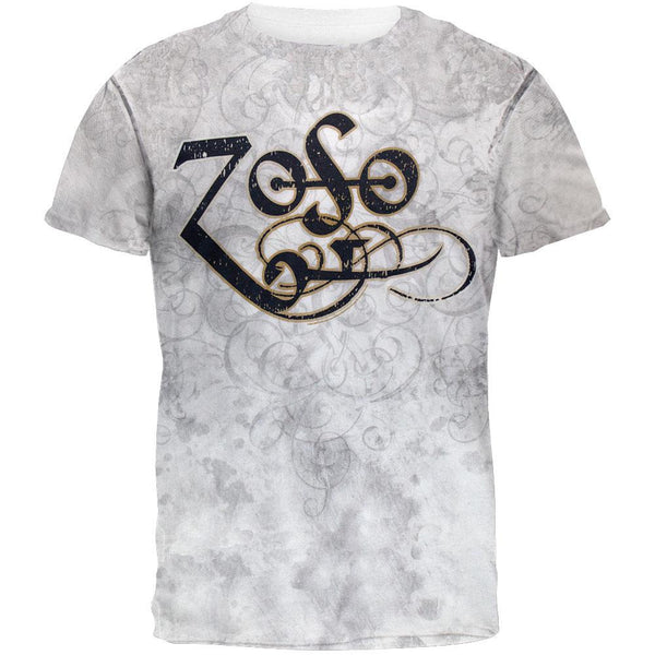 Jimmy Page - Flourished Zoso All Over T-Shirt