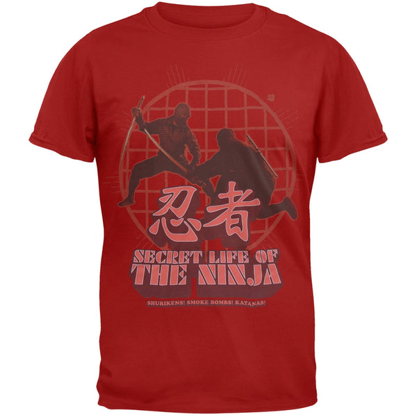 Secret Life Of The Ninja - Battle Soft T-Shirt