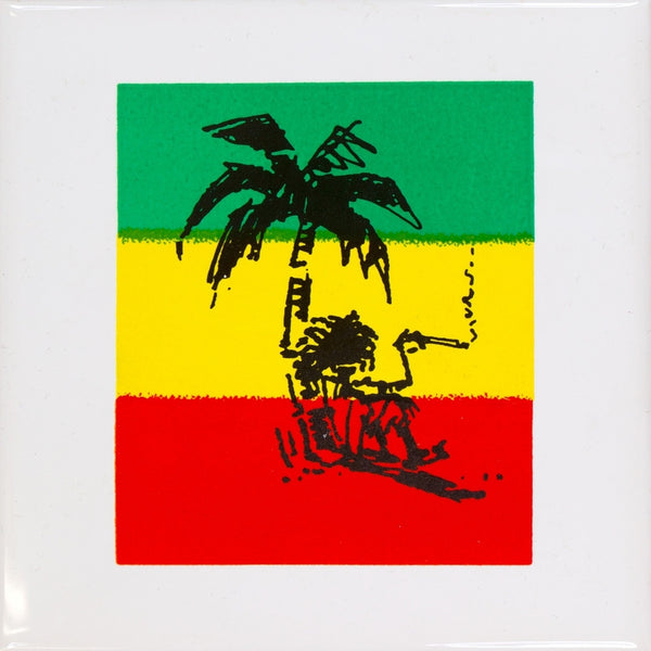Jamaican Flag Coaster