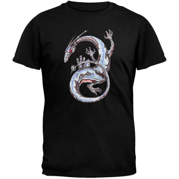 Chrome Dragon Black T-Shirt
