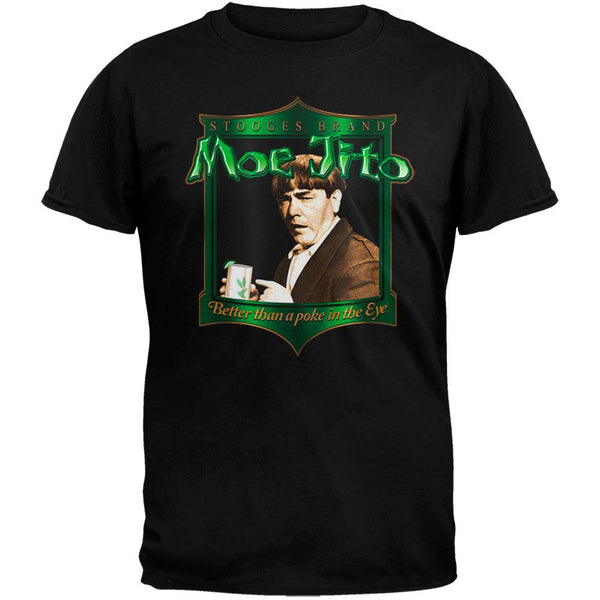 Three Stooges - Moejito Black T-Shirt