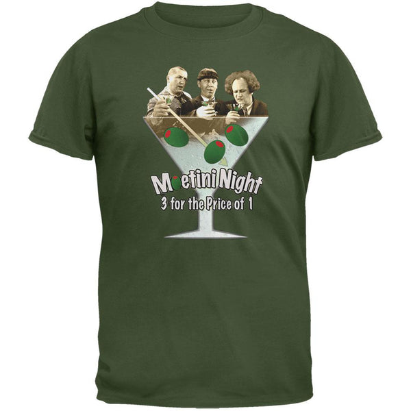 Three Stooges - Moetini Night T-Shirt