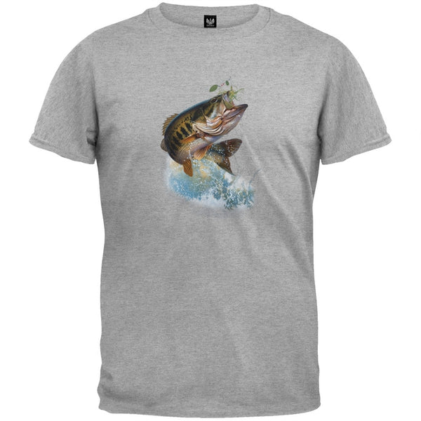Fish And Hook T-Shirt - Large