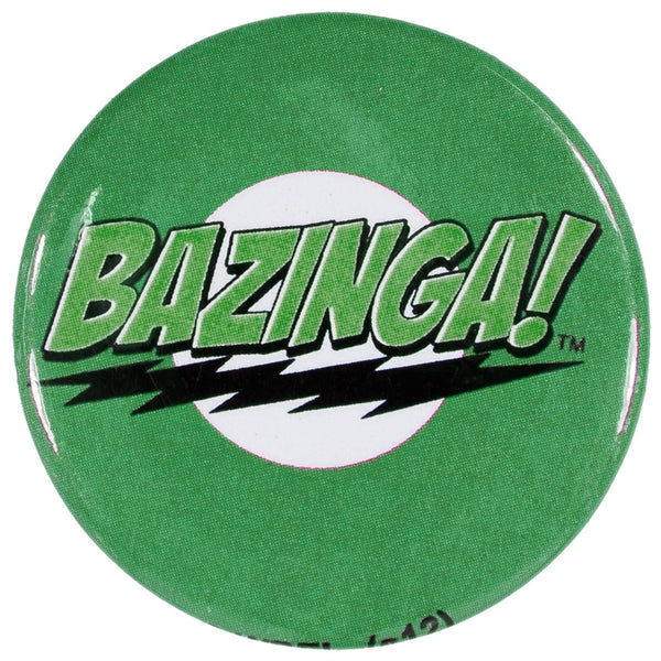 Big Bang Theory - Bazinga Green Button