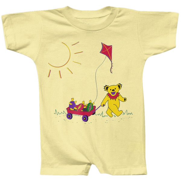 Grateful Dead - Wagon Banana Infant Romper
