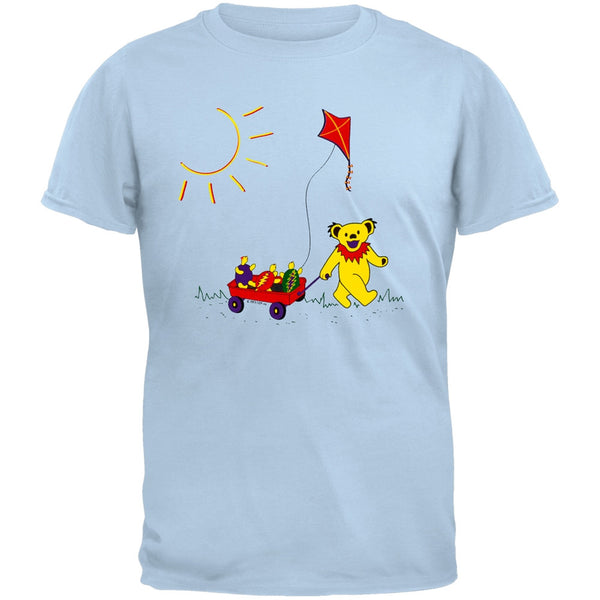 Grateful Dead - Wagon Light Blue Youth T-Shirt