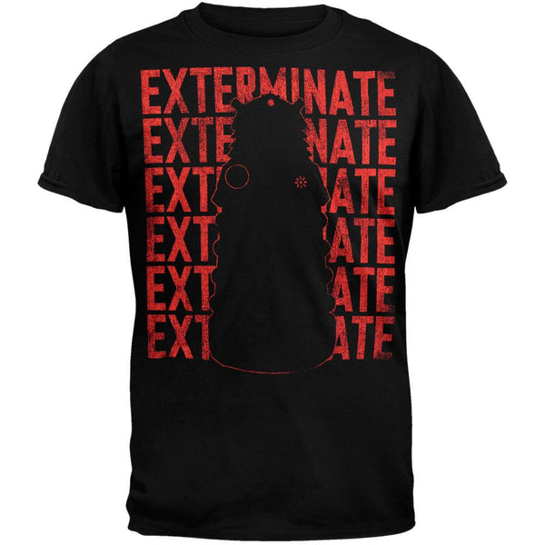 Doctor Who - Repeat Exterminate Dalek T-Shirt