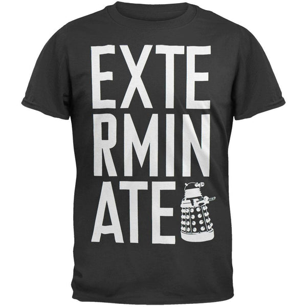 Doctor Who - Stacked Exterminate T-Shirt