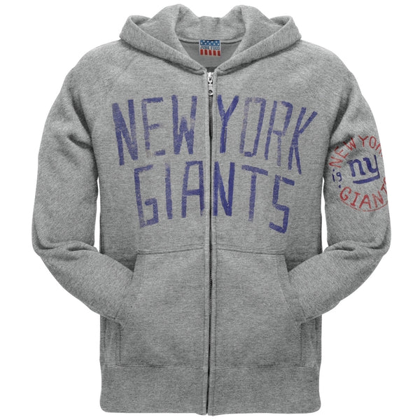 New York Giants - Sunday Grey Zip Hoodie