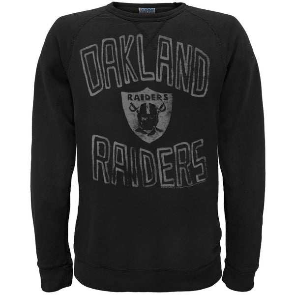 Oakland Raiders - Logo Crew Neck Sweatshirt