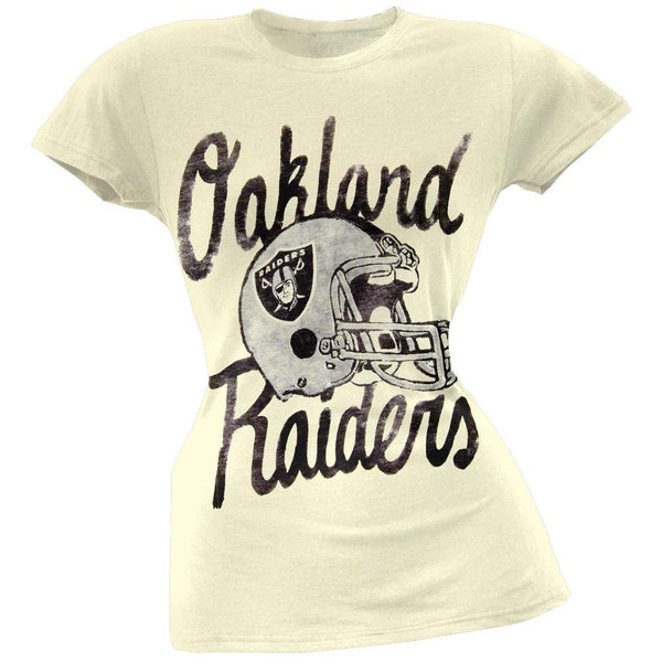 Oakland Raiders - Kick Off Juniors T-Shirt