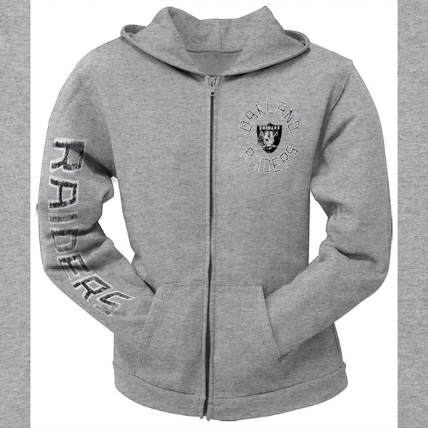 Oakland Raiders - Sunday Juniors Zip Hoodie