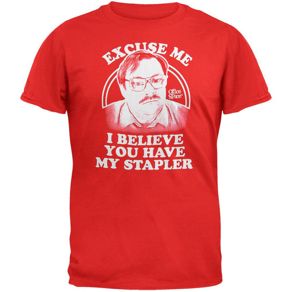 Office Space - Believe You Have My Stapler T-Shirt