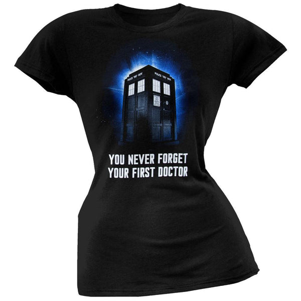 Doctor Who - You Never Forget Juniors T-Shirt