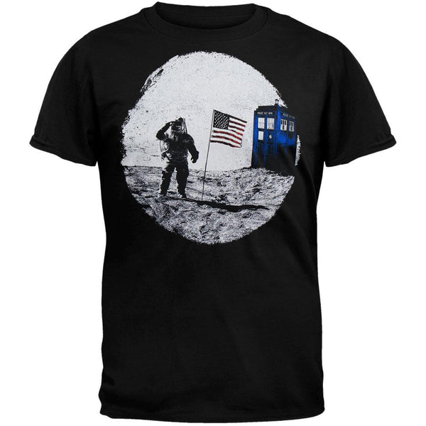 Doctor Who - TARDIS Moon Landing T-Shirt
