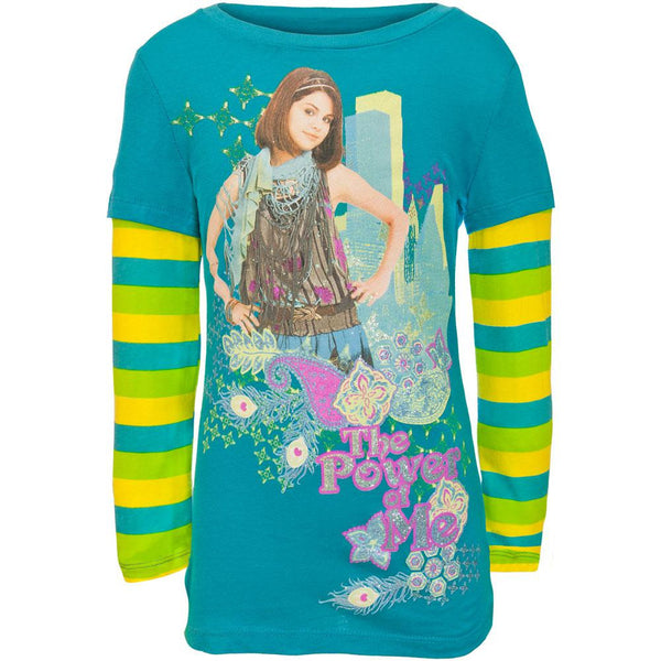 Wizards Of Waverly Place - Power Girls Youth 2fer Long Sleeve T-Shirt