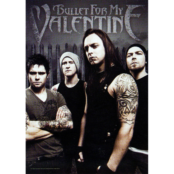 Bullet For My Valentine - Band Photo Tapestry