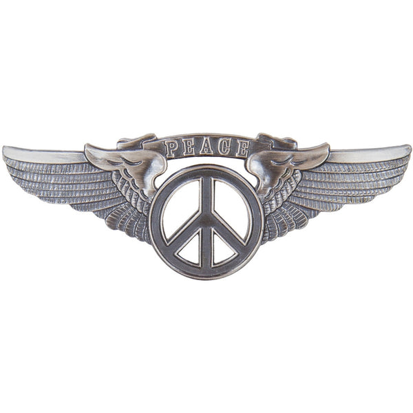 Peace Small Pilot Pin