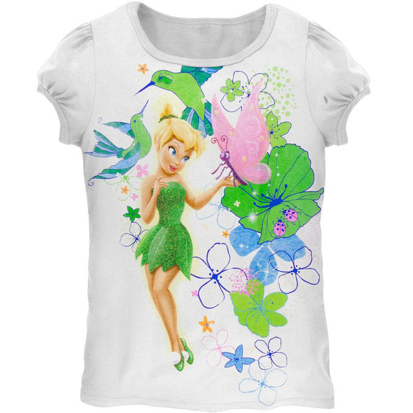Tinkerbell - Flower Garden Girls Juvy T-Shirt