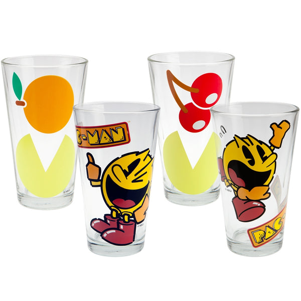 Pac-Man - Group Pint Glass Set