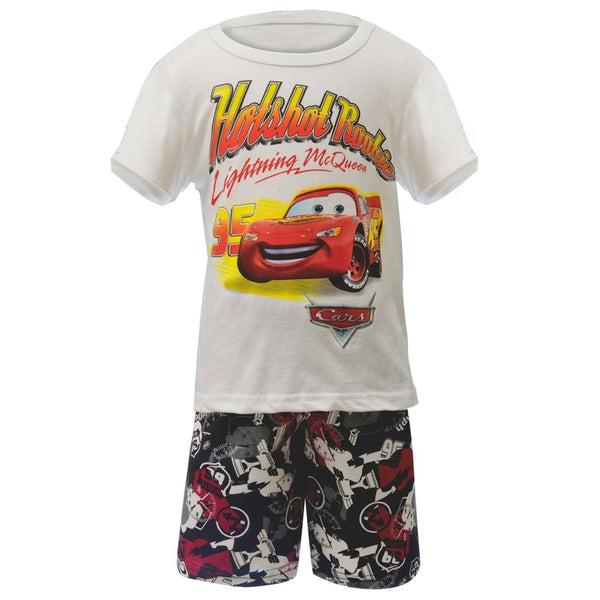 Cars - Hotshot Rookie Toddler Shirt And Shorts Set