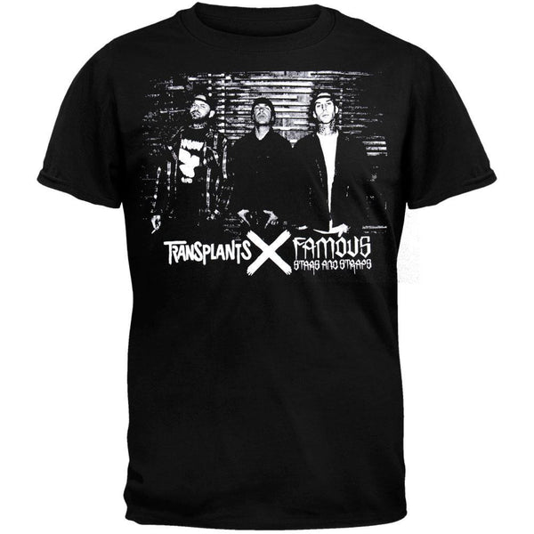 Famous Stars & Straps X The Transplants - Photo T-Shirt