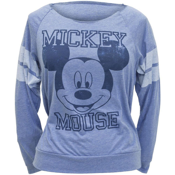 Mickey Mouse - 28 Juniors Long Sleeve T-Shirt