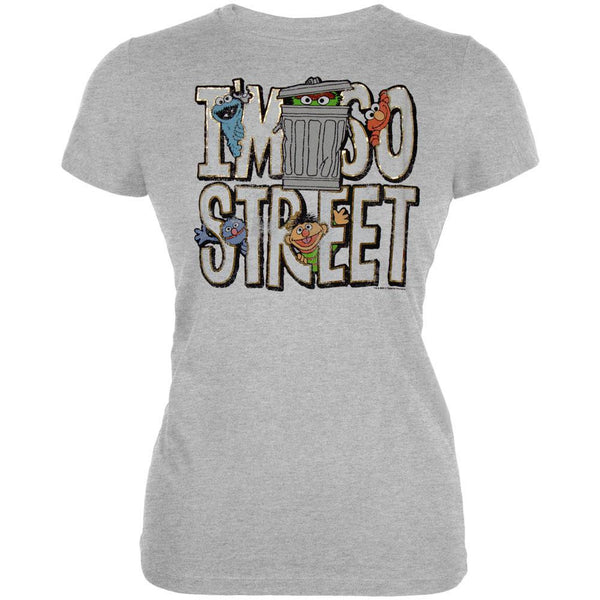 Sesame Street - I'm So Street Juniors T-Shirt