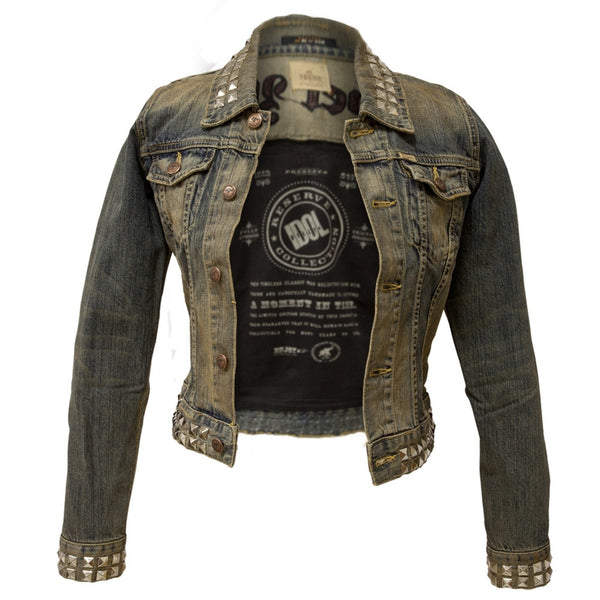 Billy Idol - Rebel Yell Premium Juniors Denim Jacket