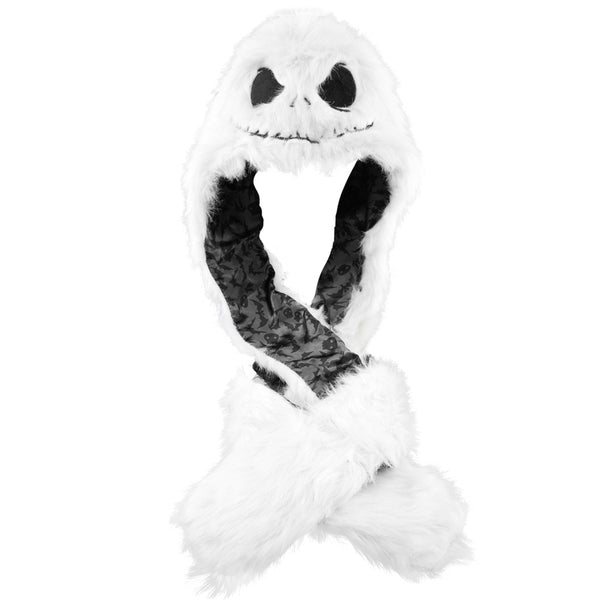 Nightmare Before Christmas - Jack Head Plush Hat Mittens