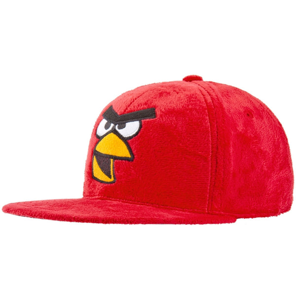 Angry Birds - Red Bird Plush Snapback Cap