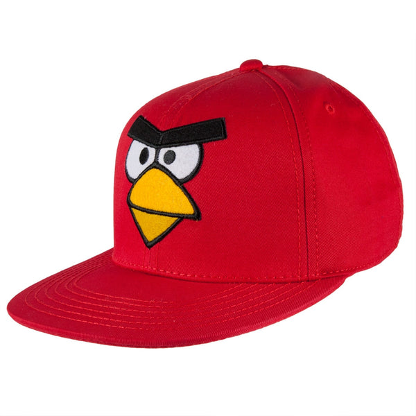 Angry Birds - Red Bird Big Face Snapback Cap