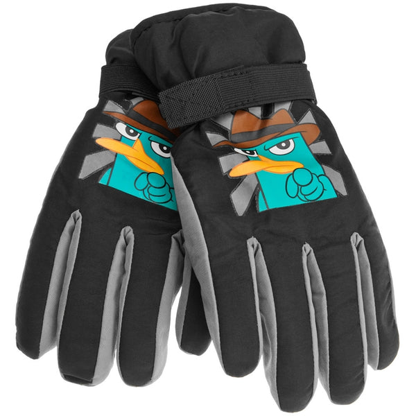 Phineas And Ferb - Agent P Youth Ski Gloves