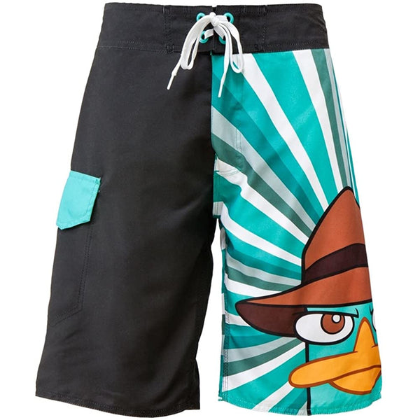 Phineas And Ferb Agent P Burst Board Shorts