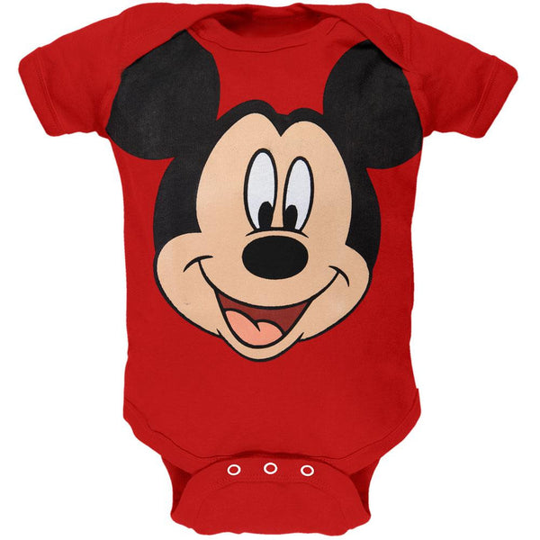 Mickey Mouse - Face Baby One Piece