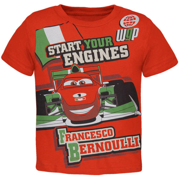 Cars - Start Your Engines Toddler T-Shirt