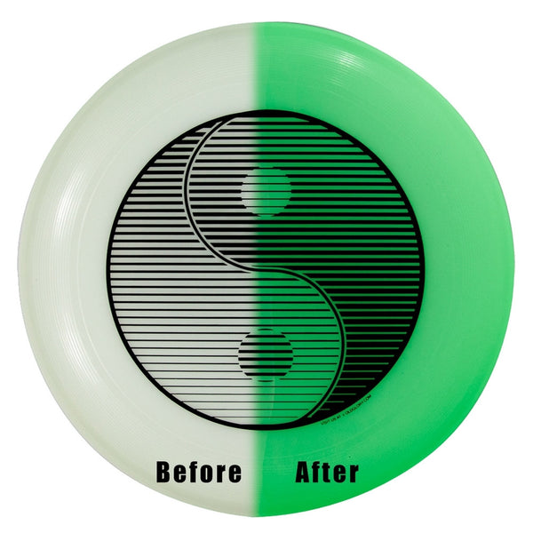 Wham- O - Yin Yang Glow In The Dark U-Max Frisbee
