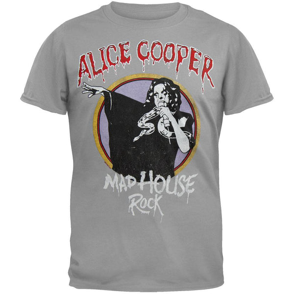 Alice Cooper - Vintage Madhouse Rock T-Shirt
