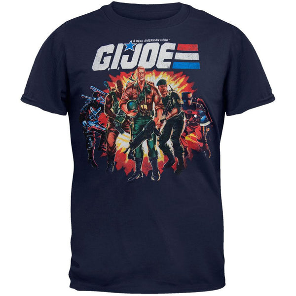 GI Joe - Group Explosion T-Shirt