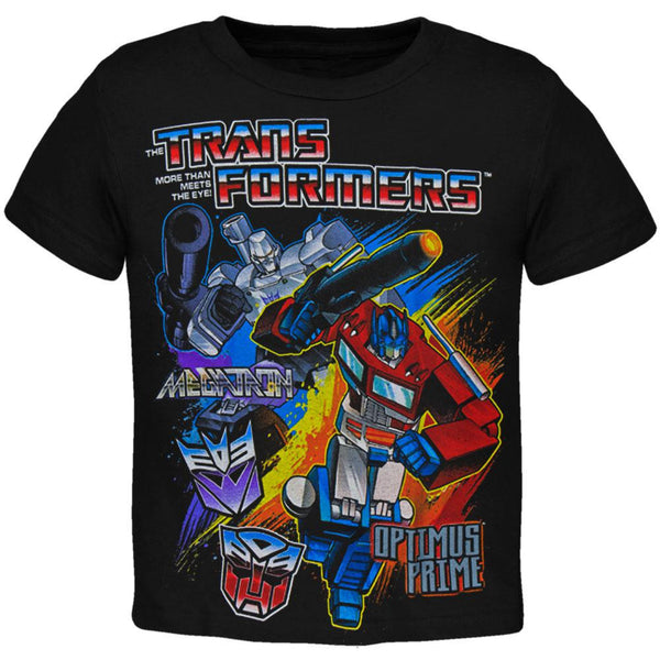 Transformers - Megatron And Optimus Prime Juvy T-Shirt