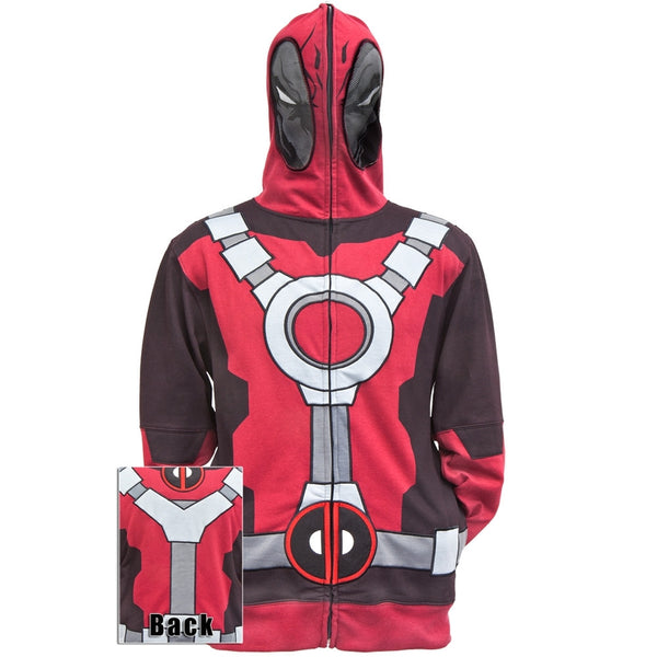 Deadpool - Mr. Pool Costume Zip Hoodie