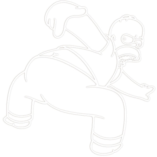 Homer Simpson - Butt Sticker