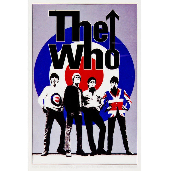 The Who - Logo Portrait Decal