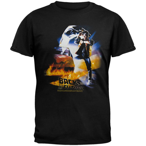 Back To The Future - Btf Poster T-Shirt